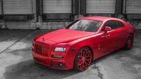 Rolls-Royce Wraith bản độ Mansory khoác áo đỏ từ trong ra ngoài