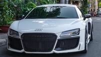 """Siêu xe Audi R8 độ """"khủng"""" xuất hiện gần nhà Cường """"Đô-la"""""""