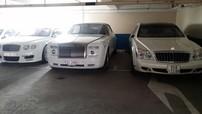 """Dàn xe sang cực """"khủng"""" xuất hiện tại hầm đỗ xe ở Sài thành là của ai?"""