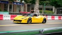 """Ferrari 458 Italia độ Liberty Walk độc nhất Việt Nam """"dợt"""" trước sự kiện xe đua F1"""
