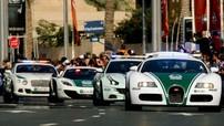 Đoàn siêu xe cảnh sát Dubai và câu chuyện hậu trường ít người biết