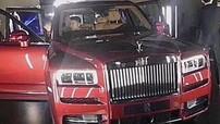 Rolls-Royce Cullinan 2019 bất ngờ lộ diện trước giờ ra mắt vào ngày mai