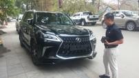 """Lexus LX570 Super Sport 2018 gần 10 tỷ Đồng đầu tiên """"làm dâu"""" tại Thanh Hoá"""