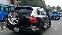 Sau Bentley và Range Rover, Chủ tịch Trung Nguyên độ ống thở cho cả Porsche Cayenne