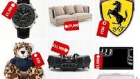 6 món hàng hóa thú vị được đính logo nhãn hiệu xe nổi tiếng thế giới