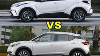 Cùng thiếu hệ dẫn động 4 bánh, Toyota C-HR đắt hơn 4.000 USD so với Nissan Kicks