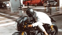 """Triumph Thruxton - """"Ly cà phê đậm đặc"""" từ bản độ của Cohn Racers"""