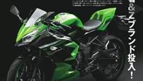 Kawasaki Ninja 125 và Z125 sẽ ra mắt vào cuối năm 2018