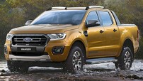 Ford Ranger 2019 tiếp tục ra mắt với động cơ lấy từ Ranger Raptor mới