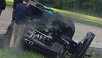 Siêu xe Koenigsegg Agera RS Gryphon độc nhất vô nhị gặp tai nạn lần thứ hai