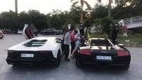 Cặp đôi siêu xe Lamborghini bất ngờ được vận chuyển xuống Nghệ An