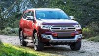 Giá xe Ford Everest 2018 mới nhất trong tháng 6/2018