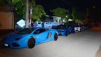 Dàn siêu xe tham dự hành trình Car & Passion Tây Nguyên