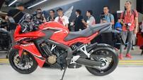 Giá xe Honda CBR650F 2018 tháng 6/2018
