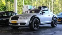 Bắt gặp Bentley Continental GT độ theo phong cách off-road ấn tượng ngoài đời thực