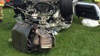 Porsche 911 GT3 RS đứt đôi trong tai nạn kinh hoàng, người lái chỉ bị thương nhẹ