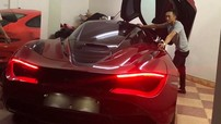 """Xôn xao với hình ảnh Cường """"Đô-la"""" đi xem siêu xe McLaren 720S thứ 2 tại Việt Nam"""