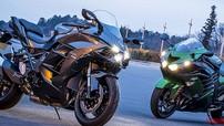 So sánh tốc độ Kawasaki Ninja H2, Ninja H2 SX và ZX-14R