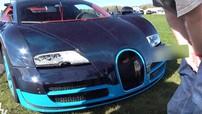 Bugatti Veyron Grand Sport Vitesse tông vào hàng rào chắn khi cố giảm phanh từ tốc độ 334 km/h