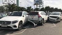 Hà Nội: Toyota Vios gây tai nạn liên hoàn cho 3 ô tô trong bãi đỗ sân bay Nội Bài