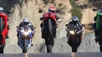 Điểm danh 10 Sport bike bản thương mại mạnh mẽ nhất năm 2018