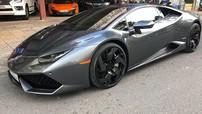 Lamborghini Huracan độ mâm bản giới hạn 273 triệu Đồng ra showroom nằm chờ khách