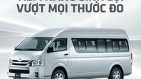 Toyota Việt Nam ra mắt Minibus Toyota Hiace 2018 với nhiều cải tiến