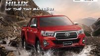 Toyota Hilux 2018 ra mắt khách hàng Việt với diện mạo hoàn toàn mới