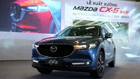 Giá xe Mazda CX-5 2018 mới nhất tháng 7/2018