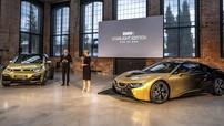 Diện kiến cặp đôi BMW i8 và i3 dát vàng 24K lấp lánh như bầu trời sao