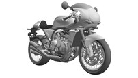 Xem trước thiết kế Honda CBX1200 với động cơ 6 xylanh