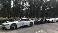 """Cặp đôi BMW i8 của """"chủ nhà"""" Đà Nẵng tiếp đón hàng chục chiếc BMW từ các nơi đổ về"""
