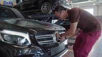 """Logo ngôi sao ba cánh của Mercedes-Benz có thể tháo ra """"dễ như ăn kẹo"""""""