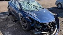 """Thêm vụ tai nạn chứng minh độ an toàn và """"đáng đồng tiền"""" của Tesla Model 3"""