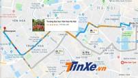 Google Maps chính thức hỗ trợ cảnh báo bản đồ tắc đường tại Việt Nam