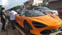 """Không chỉ Việt Nam và Campuchia, """"cơn bão"""" McLaren 720S cũng đổ bộ đến Lào"""