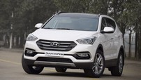 Giá xe Hyundai Santa Fe 2018 mới nhất tháng 8/2018