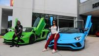 Nữ Rapper Cardi B tậu siêu xe Lamborghini Aventador S LP740-4 Roadster