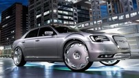 """Nhìn ngắm """"quái xe"""" Chrysler 300 độ la-zăng to tướng cỡ 26 inch"""