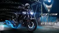 Cập nhật giá xe máy Yamaha MT-03 tháng 9/2018 hôm nay