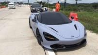 """Đâm liên hoàn McLaren 720S và Toyota Camry, người lái xe bán tải đứng trước nguy cơ """"đền ốm"""""""