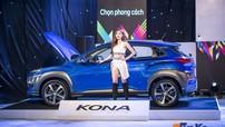 Cận cảnh Hyundai Kona 1.6L Turbo: Thiết kế ấn tượng, nội thất tiện nghi