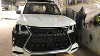 """Thợ Campuchia """"hô biến"""" Lexus LX470 đời cũ thành phiên bản LX570 Super Sport 2018"""