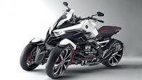 """Honda vẫn đang """"loay hoay"""" với công nghệ mô tô ba bánh nghiêng"""