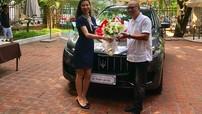 Bố của vlogger HuyMe tậu SUV hạng sang Maserati Levante hơn 5 tỷ đồng