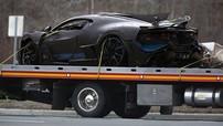 """Cư dân mạng đang """"phát điên"""" với hình ảnh chiếc siêu xe triệu đô Bugatti Divo gặp nạn"""