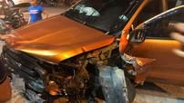 """Bắc Ninh: Xe bán tải Ford Ranger """"phóng như bay"""", đâm liên hoàn taxi và xe máy"""