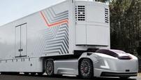 Volvo Vera - Ý tưởng xe đầu kéo tự lái hoàn toàn, loại bỏ luôn khoang tài xế