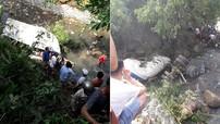 Lai Châu: Xe bồn đâm ô tô khách rồi cùng rơi xuống vực, 11 người tử vong