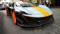 """Hoàng tử Malaysia lái siêu xe McLaren 675LT """"hàng thửa"""" sang Singapore xem đua xe F1"""